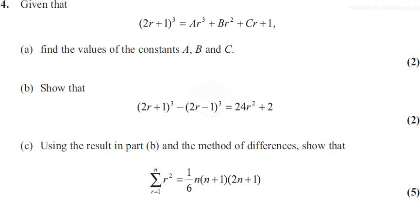 edexcel maths fp1 2010 june 6 given that 2 and 5 + 2i are roots of the equation c, d e ir, (a) write down the other complex root of the equation (1) (b) find the value of c and the value of d.